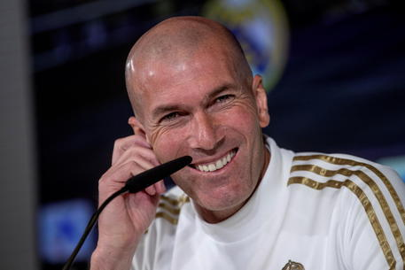 Real Madrid press conference © EPA