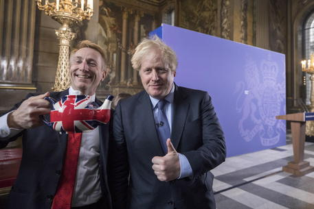 Il discorso post Brexit di Boris Johnson