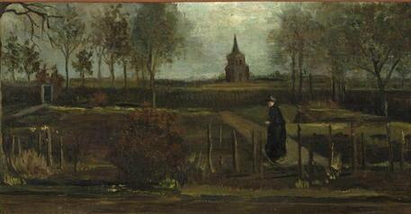 Rubato il Olanda il 'Giardino di primavera' di Vincent Van Gogh