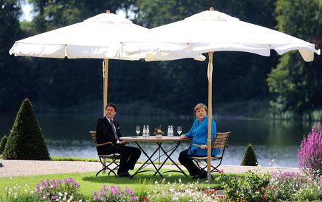 Incontro Conte Merkel: