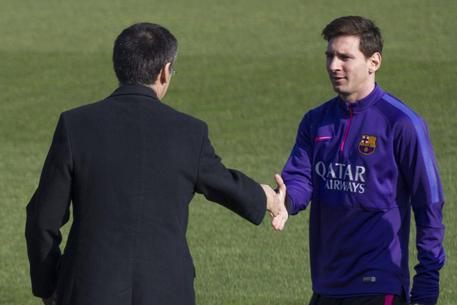 Calcio: Bartomeu certo, Messi resterà al Barcellona