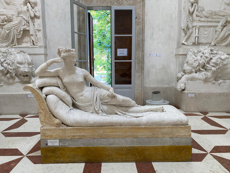 Austrian tourist who damaged Canova sculpture identified
