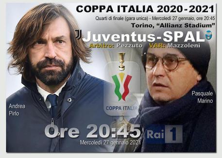Juventus-Spal di Coppa Italia, Pirlo: