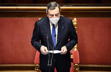 Draghi, la conferenza stampa del premier DIRETTA