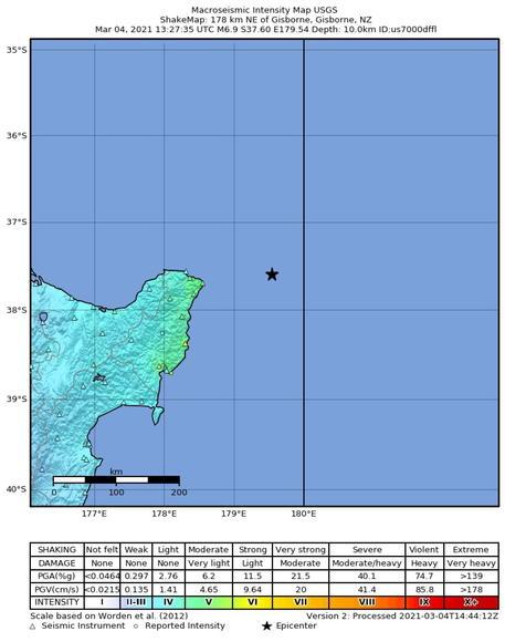 Nuova Zelanda, scossa di terremoto di magnitudo 8.1 Diramata allerta tsunami
