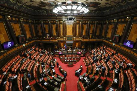 L'Aula del Senato (Foto Ansa) © ANSA