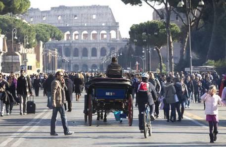 Il Colosseo © ANSA