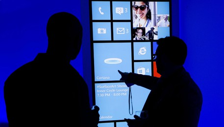 Windows addio, a NY poliziotti con iPhone(ANSA)