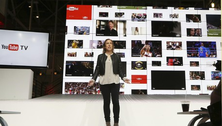 YouTube scommette su tv, lancia YouTubeTv con 40 canali(ANSA)