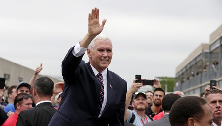 Il vicepresidente Usa Mike Pence(ANSA)