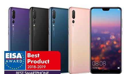Huawei P20 Pro Best Smartphone dell'anno(ANSA)