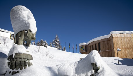 La sede del World Economic Forum a Davos(ANSA)