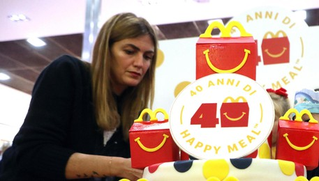 40 anni happy meal (ANSA)