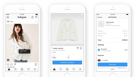 Instagram annuncia check out su shopping(ANSA)