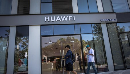 Huawei è trending topic in Italia(ANSA)