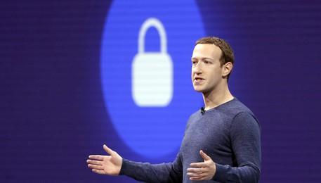 Zuckerberg, Libra facile come inviare foto (ANSA)