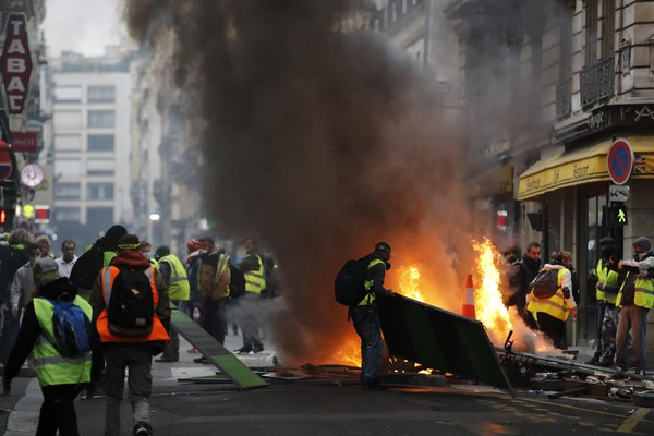 France Gas Price Protests