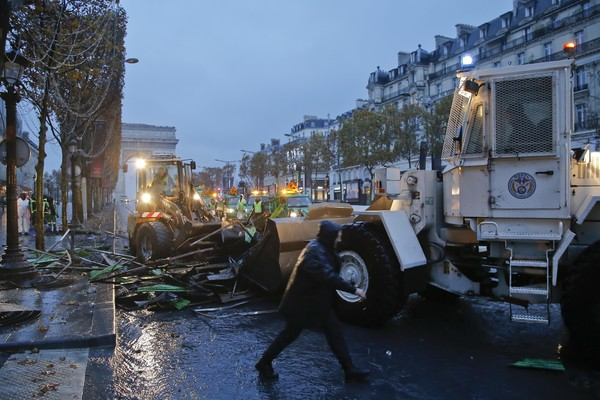 France Gas Price Protests Aftermath