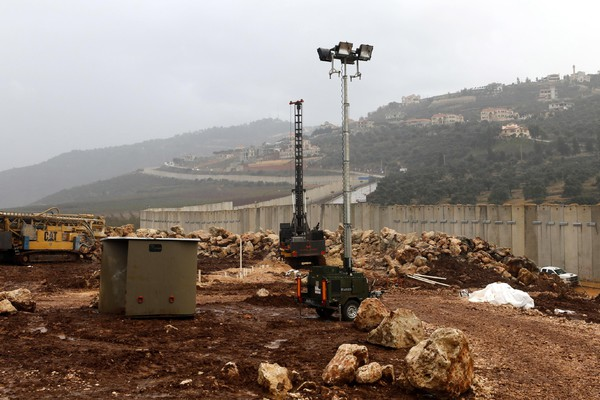 Israeli-Lebanon border developments