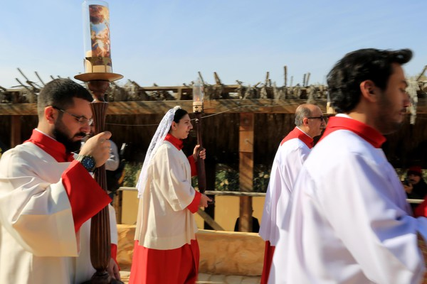 Jordan Catholic Church Baptism Site pilgrimage