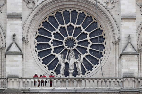 Cathedral of Notre-Dame of Paris fire aftermath