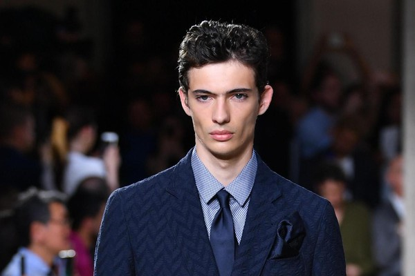 Milan Fashion Week: Spring Summer 2020 Men's collections; Armani