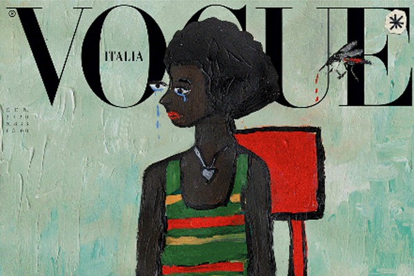 Vogue Italia di gennaio: le cover illustrate