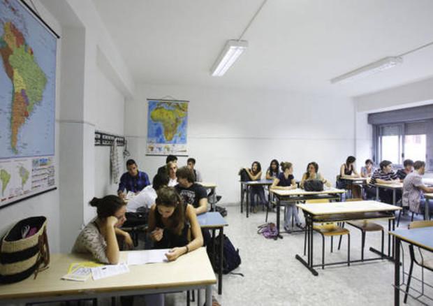 L'interno di una classe © ANSA