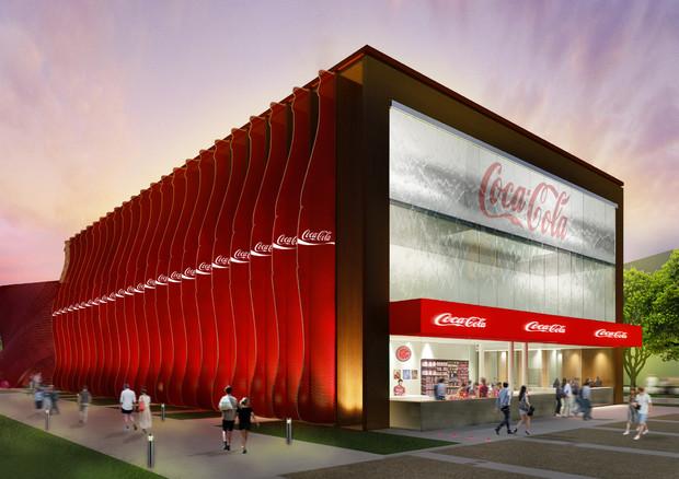 Expo: Coca-Cola presenta il suo padiglione sostenibile © Ansa