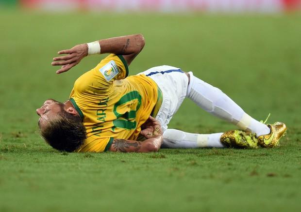 Mondiali Brasile: mondiale finito per Neymar, frattura a una vertebra