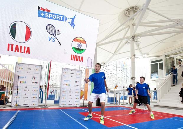 Expo Kinder Sport Porta Giovani Campioni Badminton
