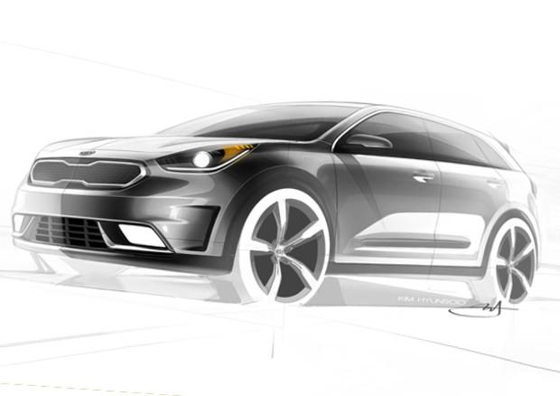 Kia Niro Hybrid: nuovo modello a basse emissioni entro fine 2016