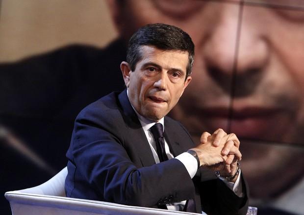 Maurizio Lupi a 'Porta  a porta' (ANSA)