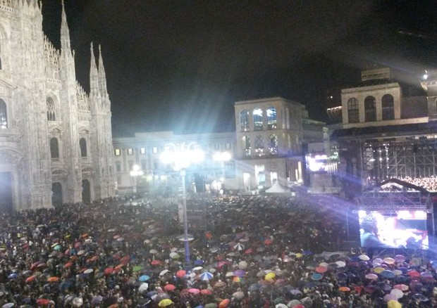 Stelle In Piazza Duomo, Bocelli E Lang Lang