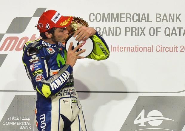MotoGP, Valentino Rossi vince in Qatar (ANSA)
