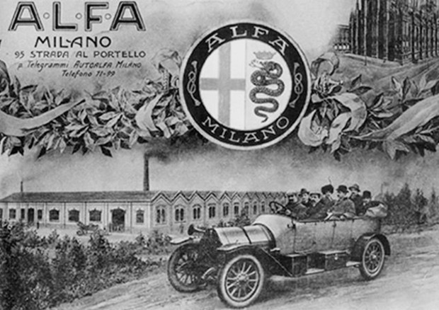 La gloriosa storia dell 39 alfa prende avvio il 24 giugno for Ufficio stampa design milano