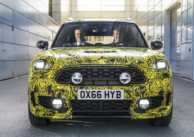 La Mini Countryman 2017 sarà disponibile con il propulsore ibrido