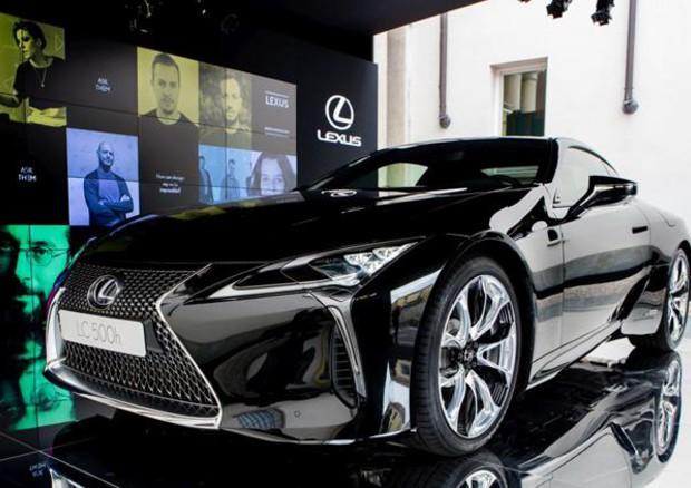 Lexus lc hybrid e valori brand ai brera design days milano for Design days milano