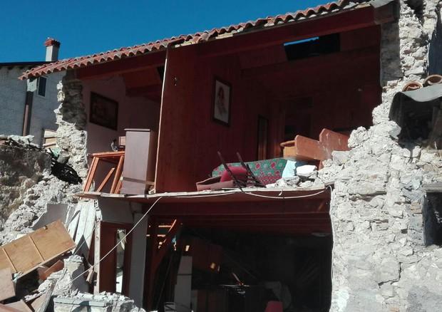 Terremoto: Castelluccio di Norcia © ANSA