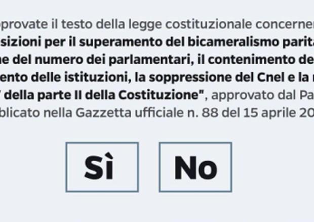 Referendum, respinto il ricorso di Movimento 5 Stelle e Sinistra Italiana