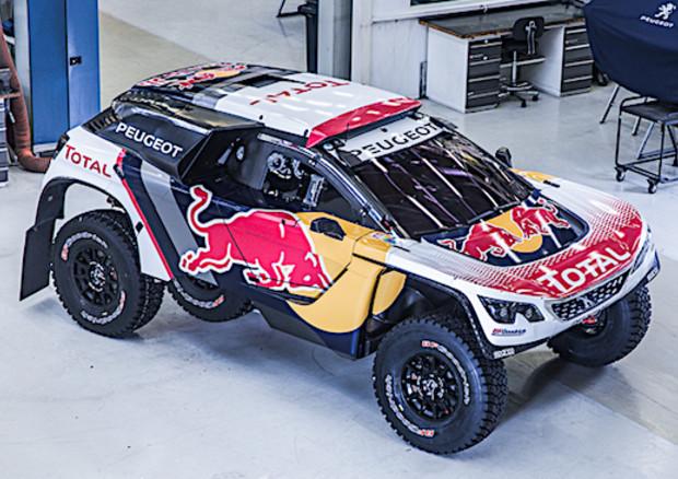 Dakar 2017: presentata la livrea della nuova Peugeot 3008 DKR