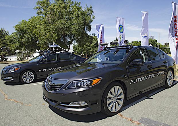 Honda-Waymo forse accordo per auto a guida autonoma
