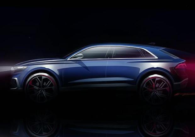 Audi Q8 Concept caratteristiche, ecco le prime immagini del nuovo Suv