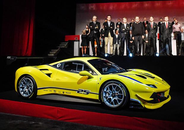 Svelata la Ferrari 488 Challenge alle finali mondiali a Daytona