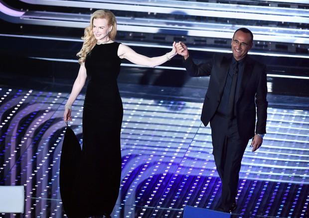 Nicole Kidman a Sanremo © ANSA