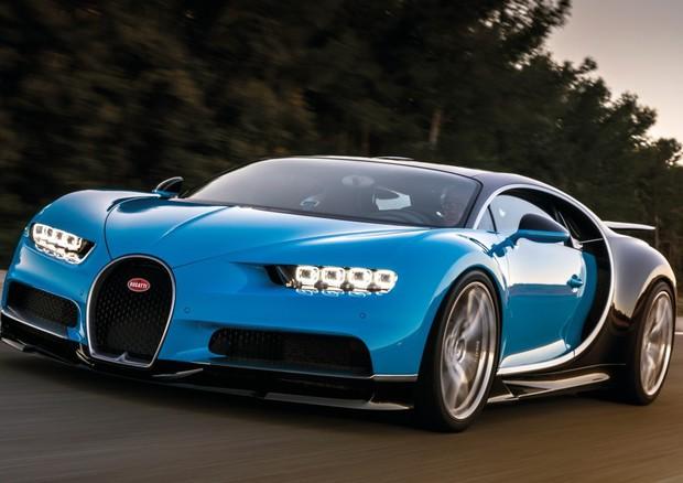 Bugatti Chiron, sempre più veloce sempre più potente