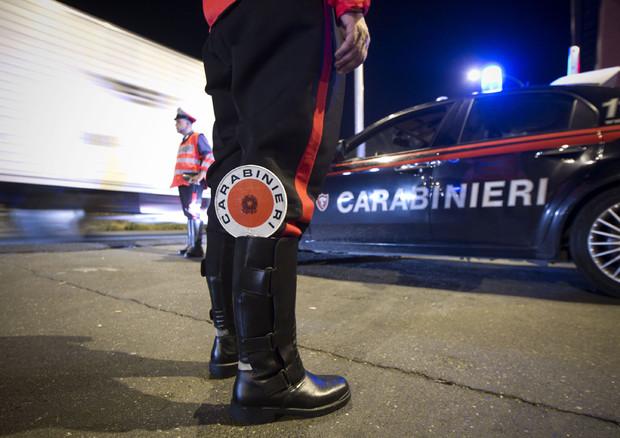 ROMA: CARABINIERI E POLIZIA IMPEGNATI IN CONTROLLI ANTICRIMINE © ANSA