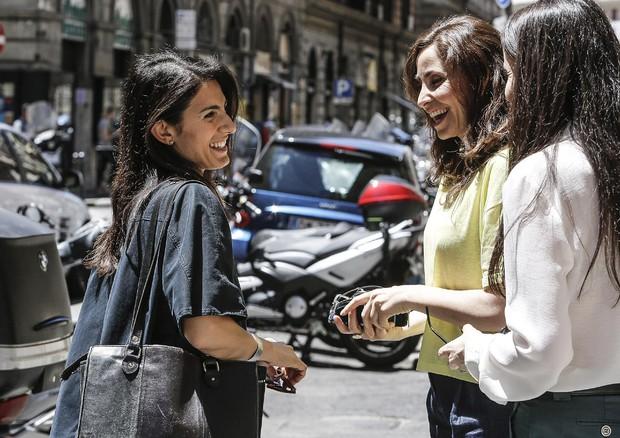 Virginia Raggi e il ringraziamento a Beppe Grillo e Gianroberto Casaleggio