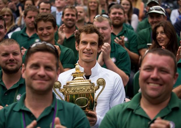 Wimbledon, trionfa Murray in finale: Raonic ko in 3 set