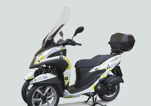 Scooter sharing a Roma, la novità Yamaha Tricity